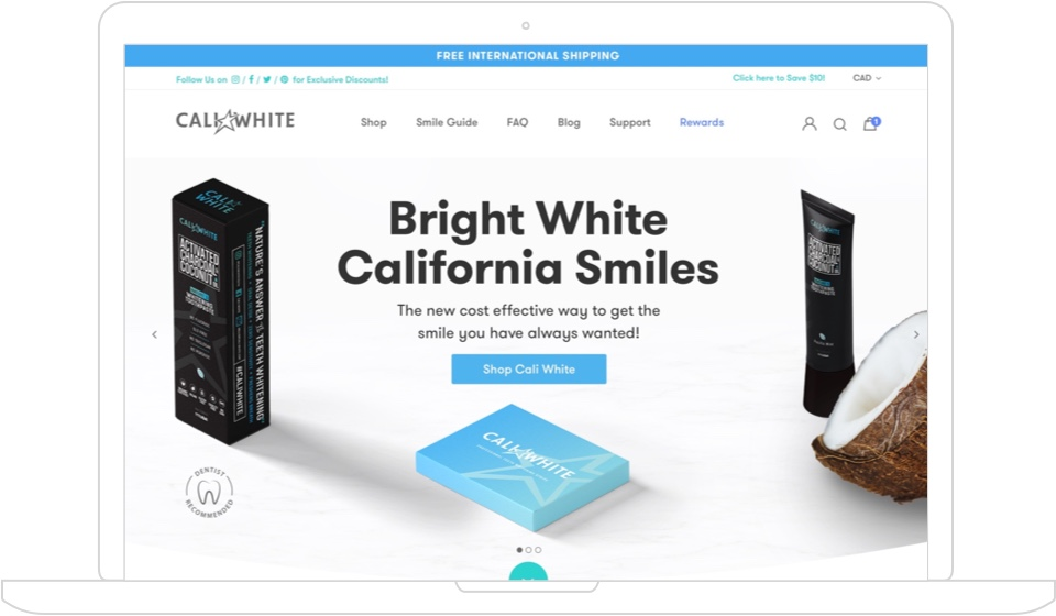 image of cali-white design